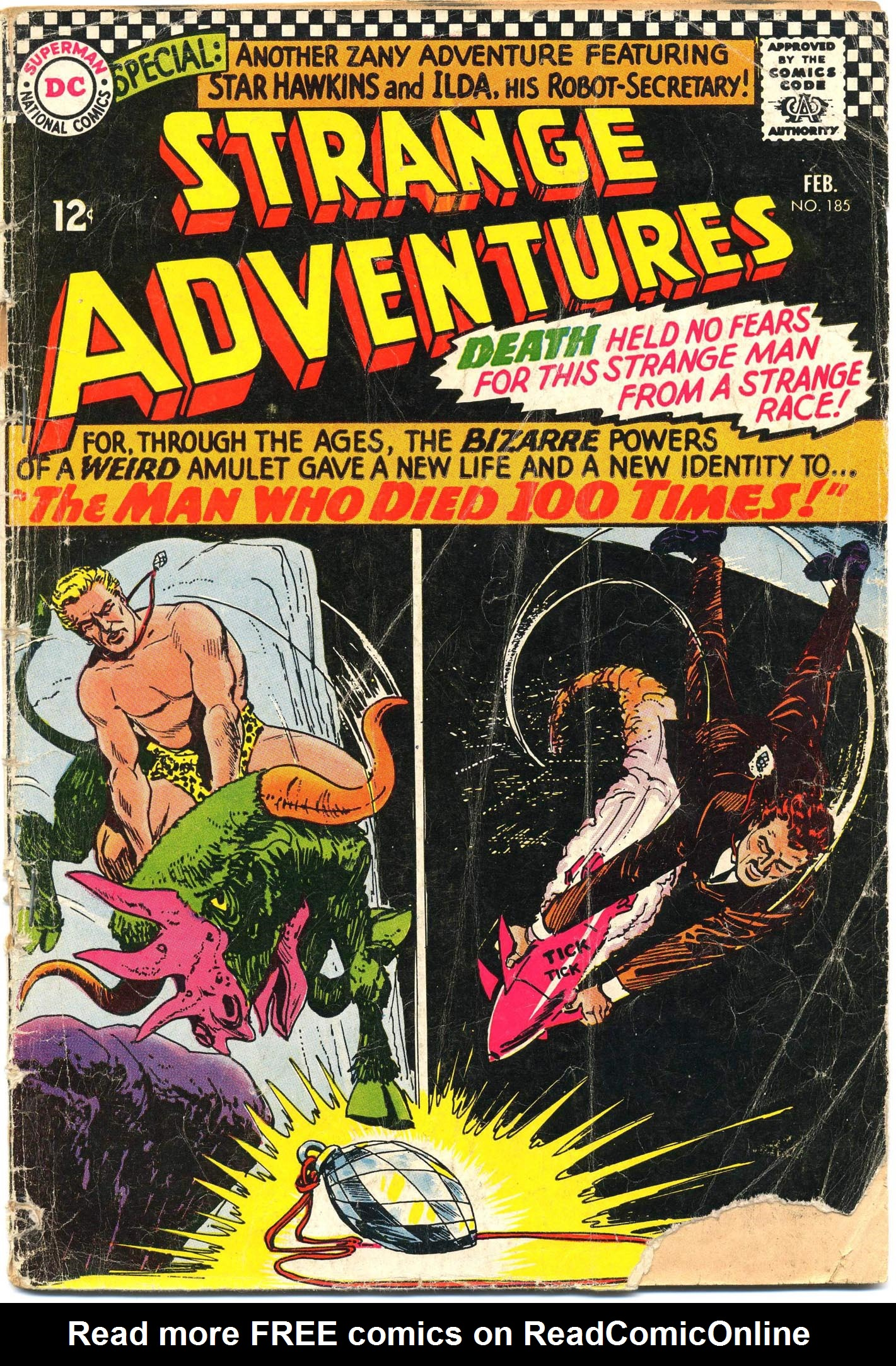Strange Adventures (1950) issue 185 - Page 1