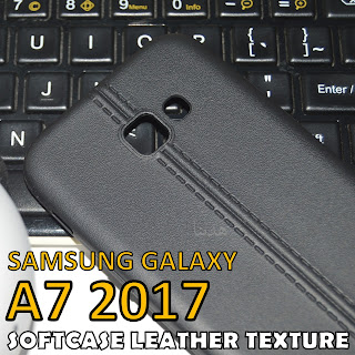 Retro-SoftCase-Leather-Texture-Back-Cover-Samsung-Galaxy-A7-2017