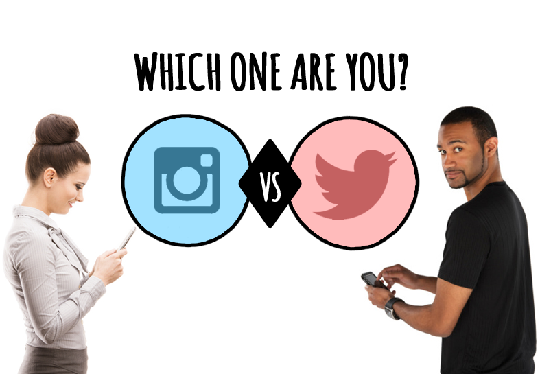 There are two types of people: Instagram People or Twitter People