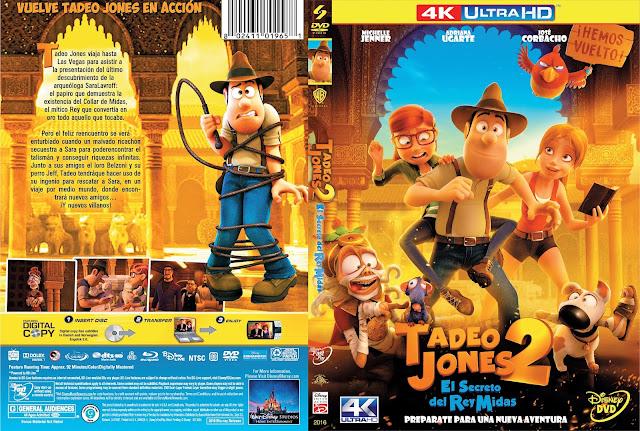 Tadeo Jones 2: El secreto del rey Midas MejorTorrent