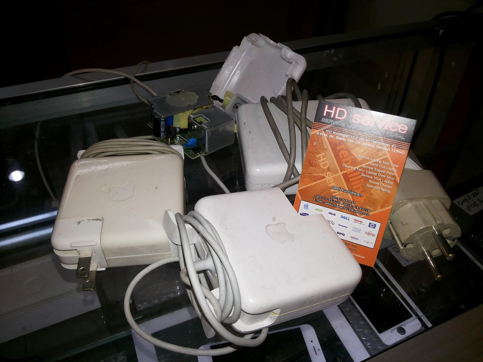 Menerima Service Charger Macbook Jakarta Service Laptop Mati Total
