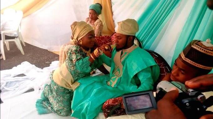 Ebira Wedding: Photos From Actress Barakatus's Wedding - See Pictures.