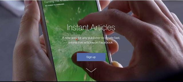 Cara Daftar dan Setting Instan Artikel Facebook untuk Blogger