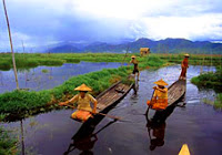 East Myanmar at Inle Lake