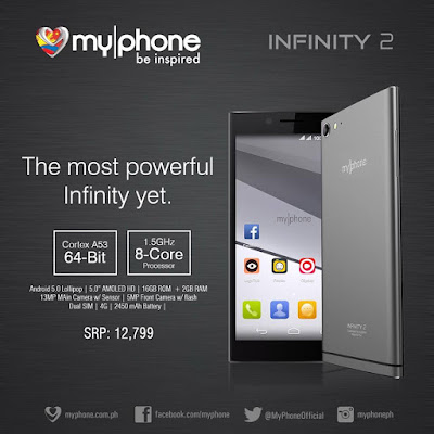 MyPhone Infinity 2: Specs, Price and Availability