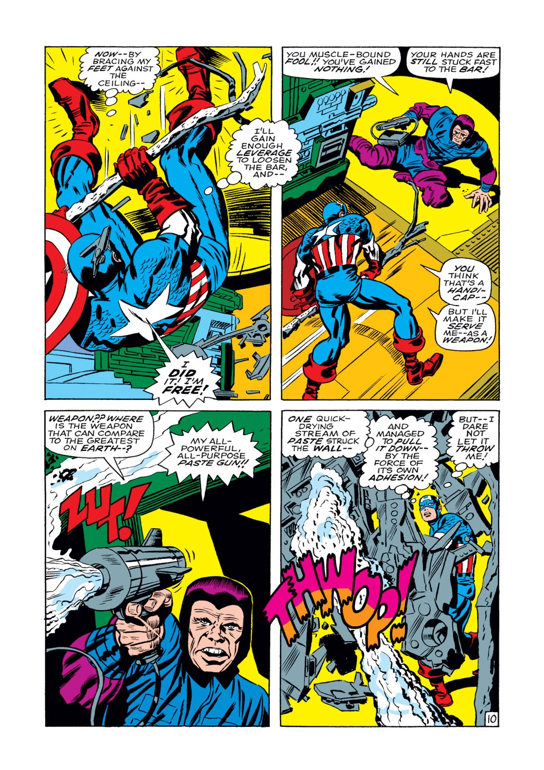 Captain America (1968) Issue #108 #22 - English 11