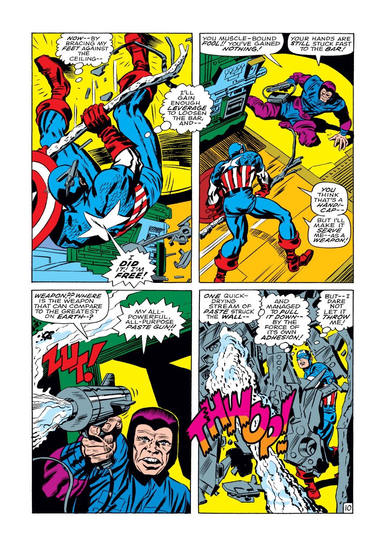 Read online Captain America (1968) comic -  Issue #108 - 11