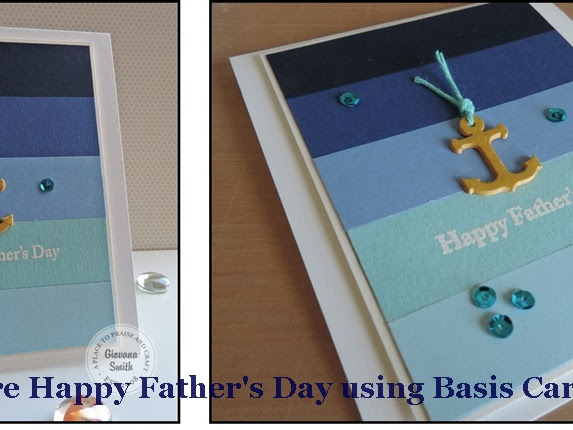 Ombre Happy Father's Day Card