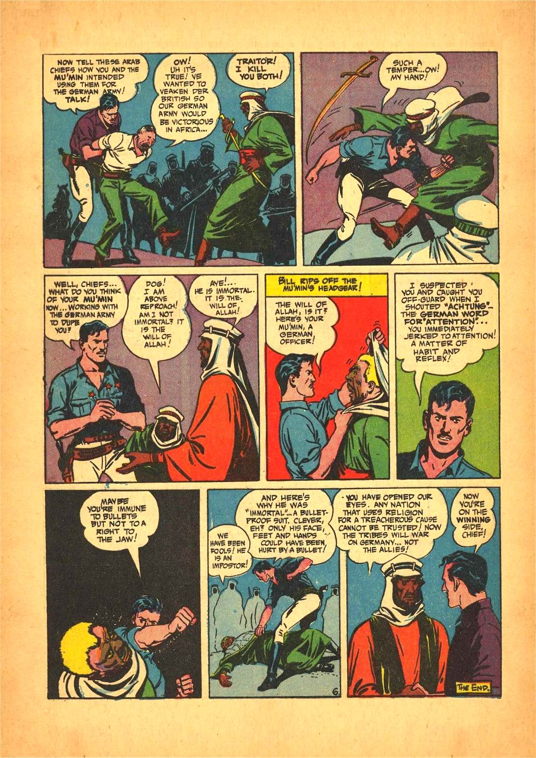 Read online Action Comics (1938) comic -  Issue #50 - 62