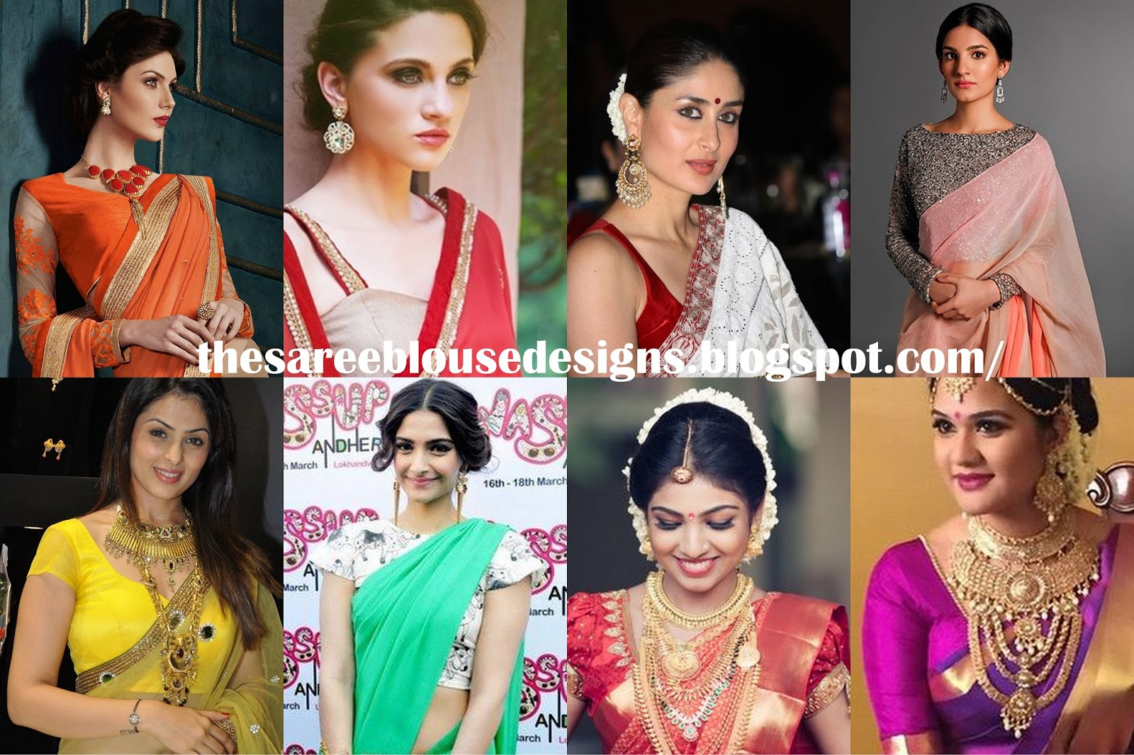 Saree Blouse Designs What Is That Sleeve Called Types Of Sleeves For Saree Blouses