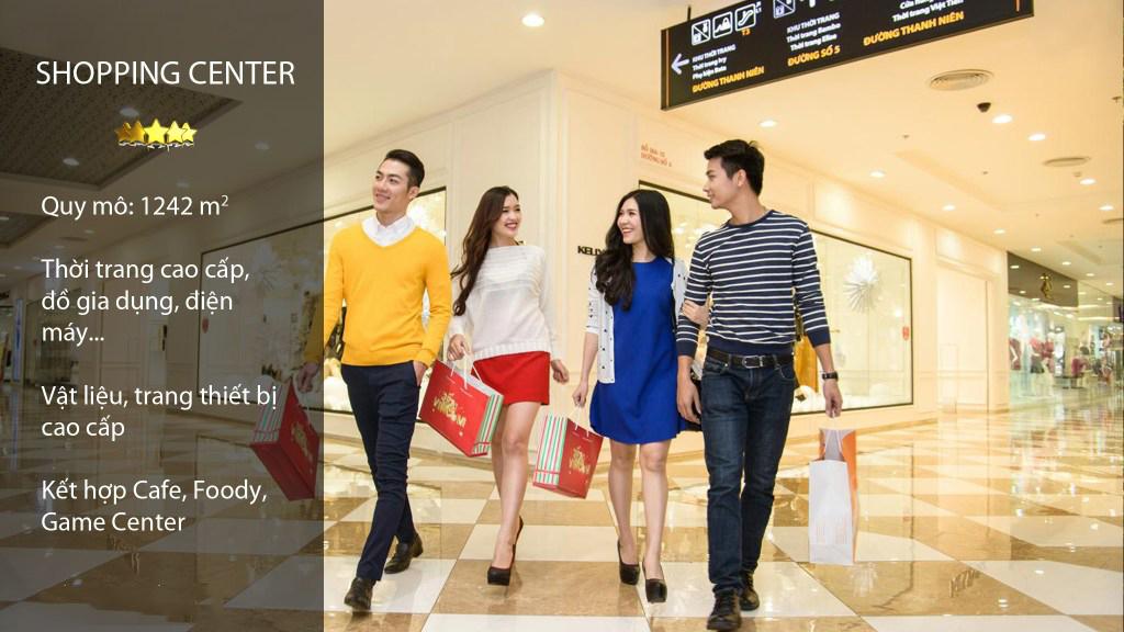 Trung tâm thương mại tại chung cư A10 Nam Trung Yên