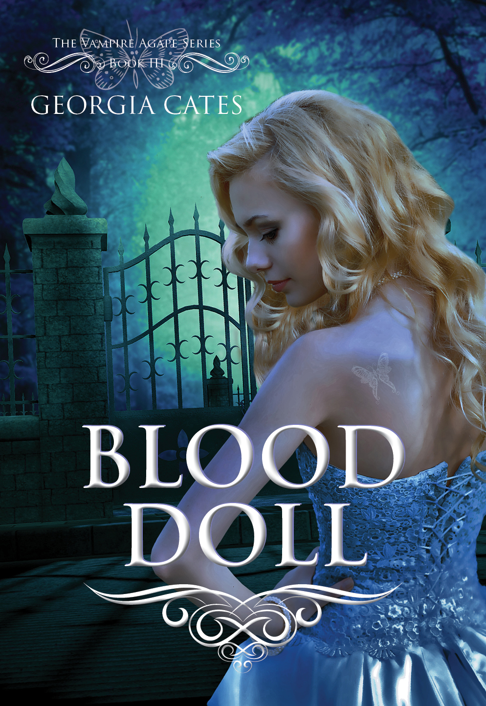 Turning The Pages: *[Cover Reveal] Blood Doll by Georgia Cates