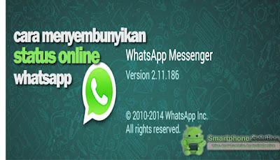 cara menyembunyikan online whatsapp android