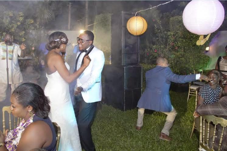 Femi jacobs wedding