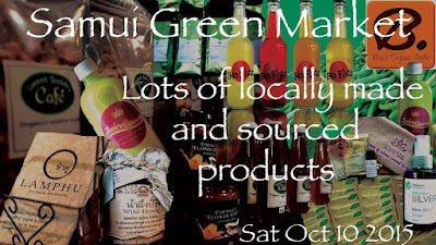 Samui green market tomorrow at Fisherman's Village