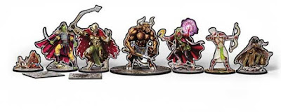 Paper Minis - Gang of Outcasts Group Shot