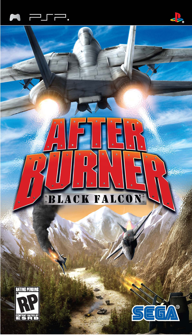 After Burner - Black Falcon - PSP - ISO Download
