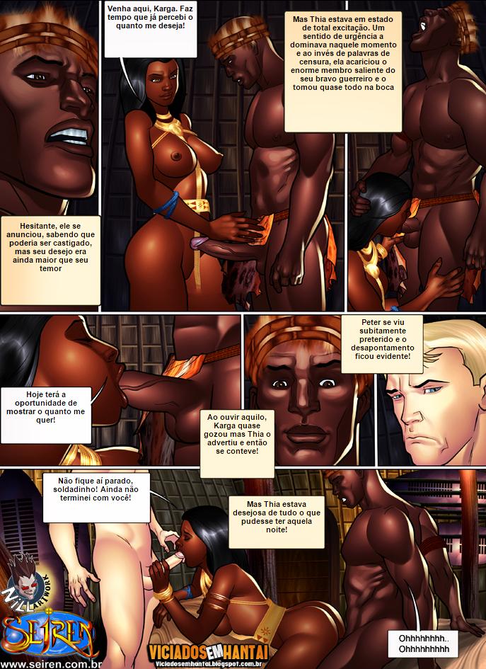 Seiren hentai - Thia, a guerreira 2
