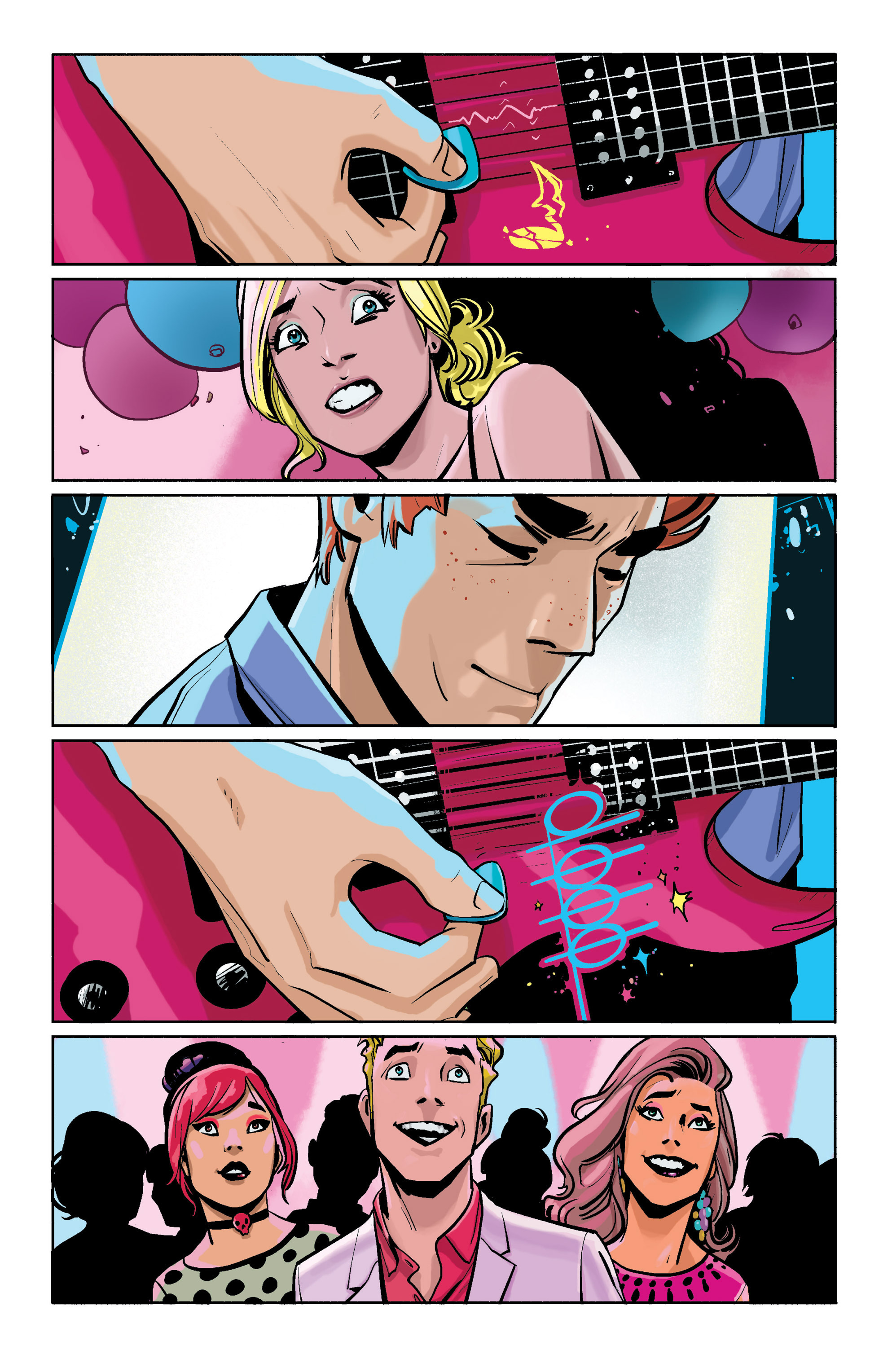 Read online Archie (2015) comic -  Issue #1 - 17