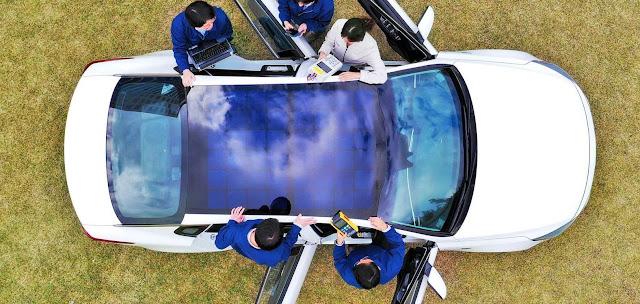 La forma en la que Kia y Hyundai usarán energía solar en sus futuros vehículos