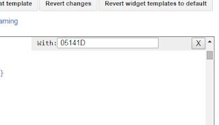 langkah mudah mengganti warna template blog dengan cepat