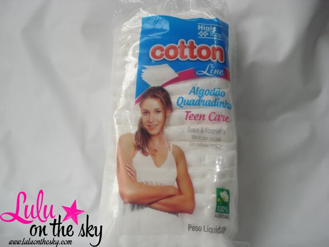 Cotton Line Algodão Quadradinho Teen Care: eu testei