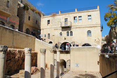 Le cardo, quartier juif