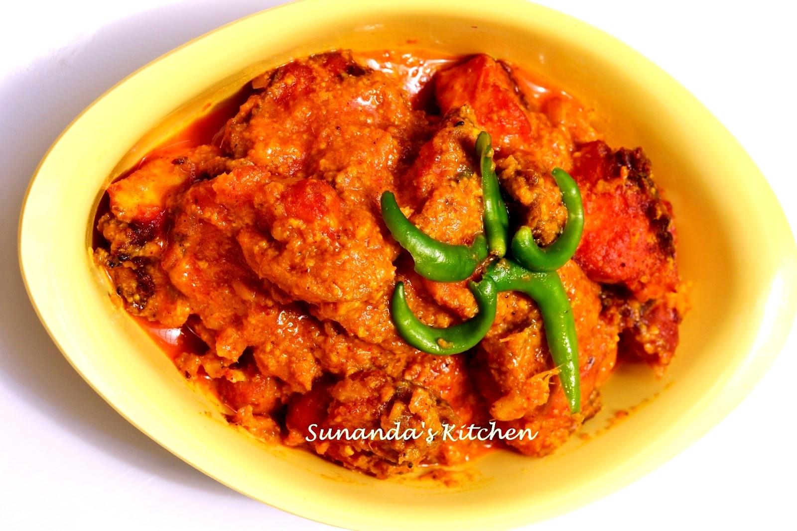 Maachher Kalia (Fish in Yogurt) | Recipes from Sunanda's Kitchen