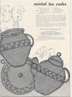 Vintage Potholders Crochet Pattern in Sugar Cream Motif