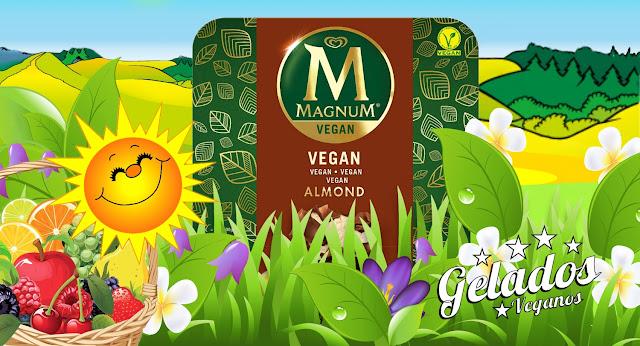 #biovegan, almond vegan ice-cream, biovegan, gelado vegan, magnum amêndoa, magnum vegan, Olá, Unilever, vegan, vegan ice-cream