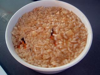 elaboración del pilaf de marisco-3
