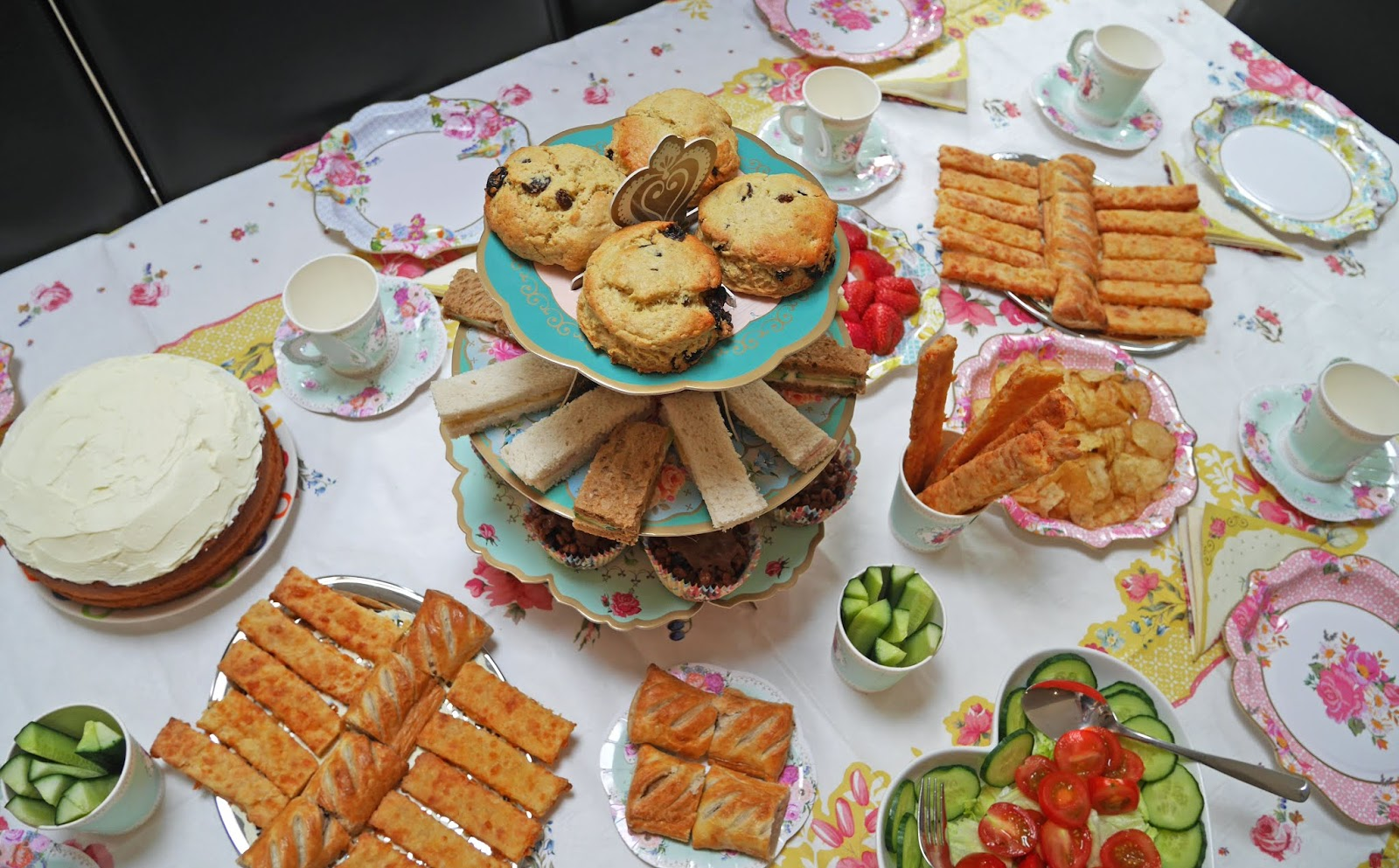 Truly Scrumptious afternoon tea in collaboration with Talking Tables