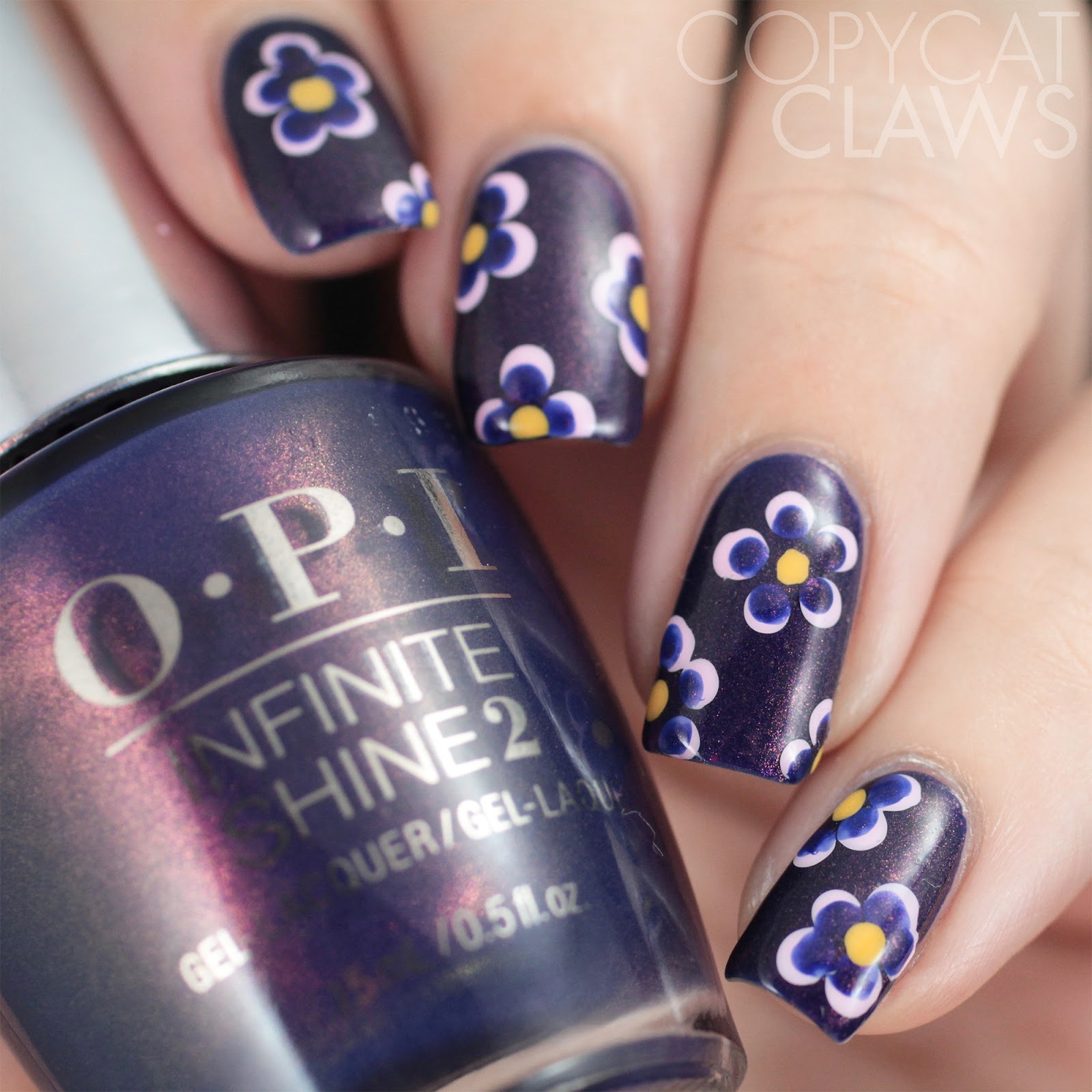 Copycat claws 26 great nail art ideas dotting tools but not i cant believe ive never thought to add that extra dot to dotted flowers before its amazing how much just adding that dot of the base color changes the prinsesfo Gallery