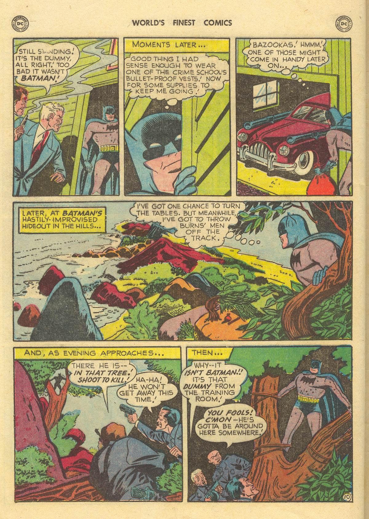 Read online World's Finest Comics comic -  Issue #51 - 72