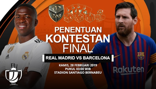 Prediksi Real Madrid vs Barcelona, Kamis 28 Februari 2019 Pukul 03:00 WIB