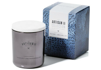 Adairs Home Republic Artisan II Hazelnut and Marshmallow Candle