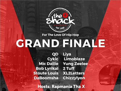 EVENT: Rapmania Tha X To Host The Grand Finale Of The Shack Happening This Sunday At La Prag, Idimu