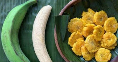 Method For Curing Ulcers And Gastritis Using Green Banana