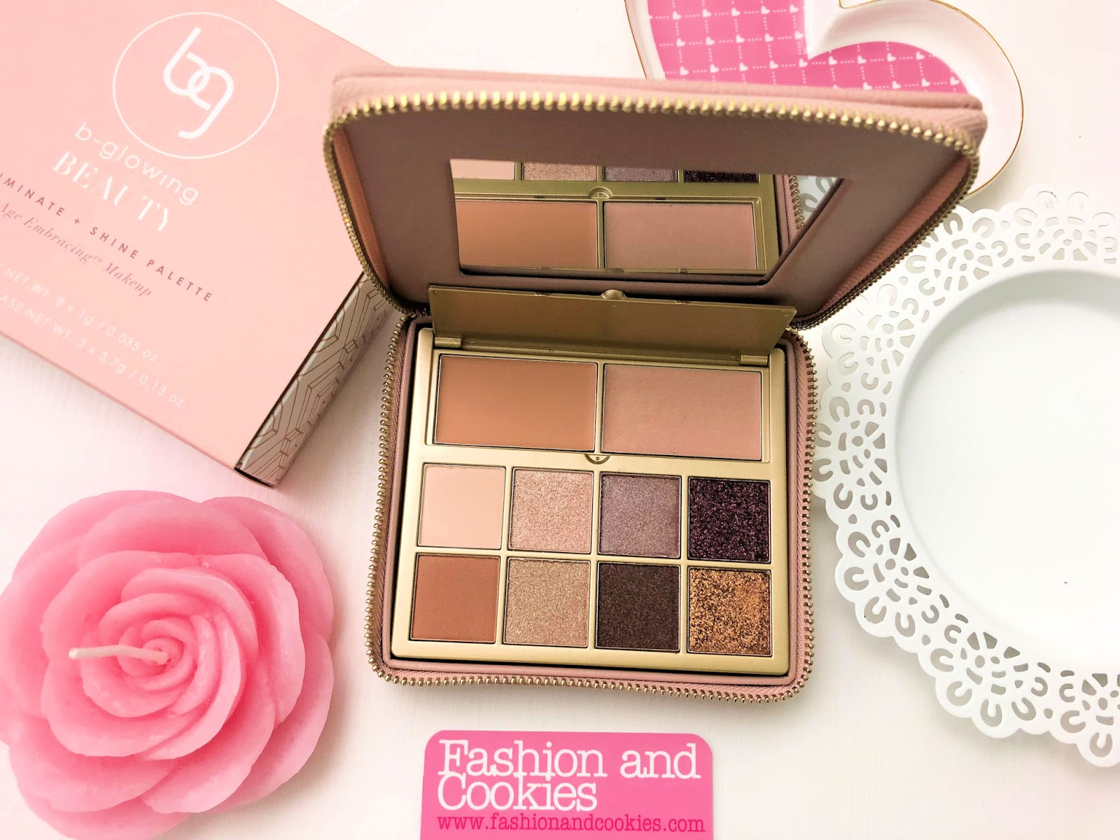 Best makeup for mature women: b-glowing Illuminate + Shine Palette on Fashion and Cookies beauty blog, beauty blogger
