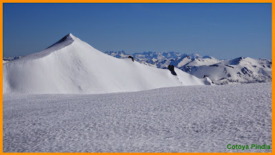 Foto del Estorbín de Valverde nevado