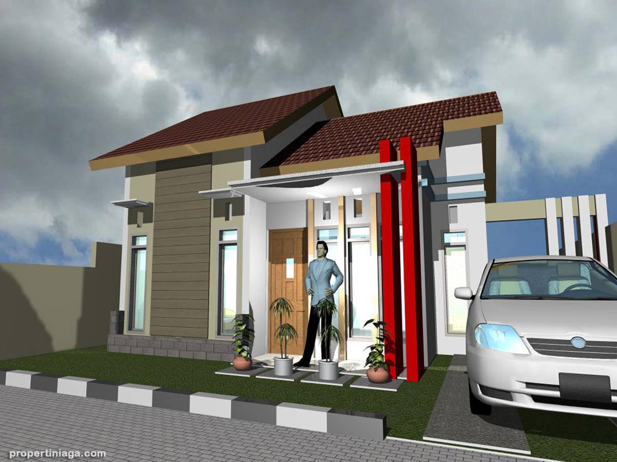Contoh Desain Rumah Minimalis Modern  Propertiniagacom