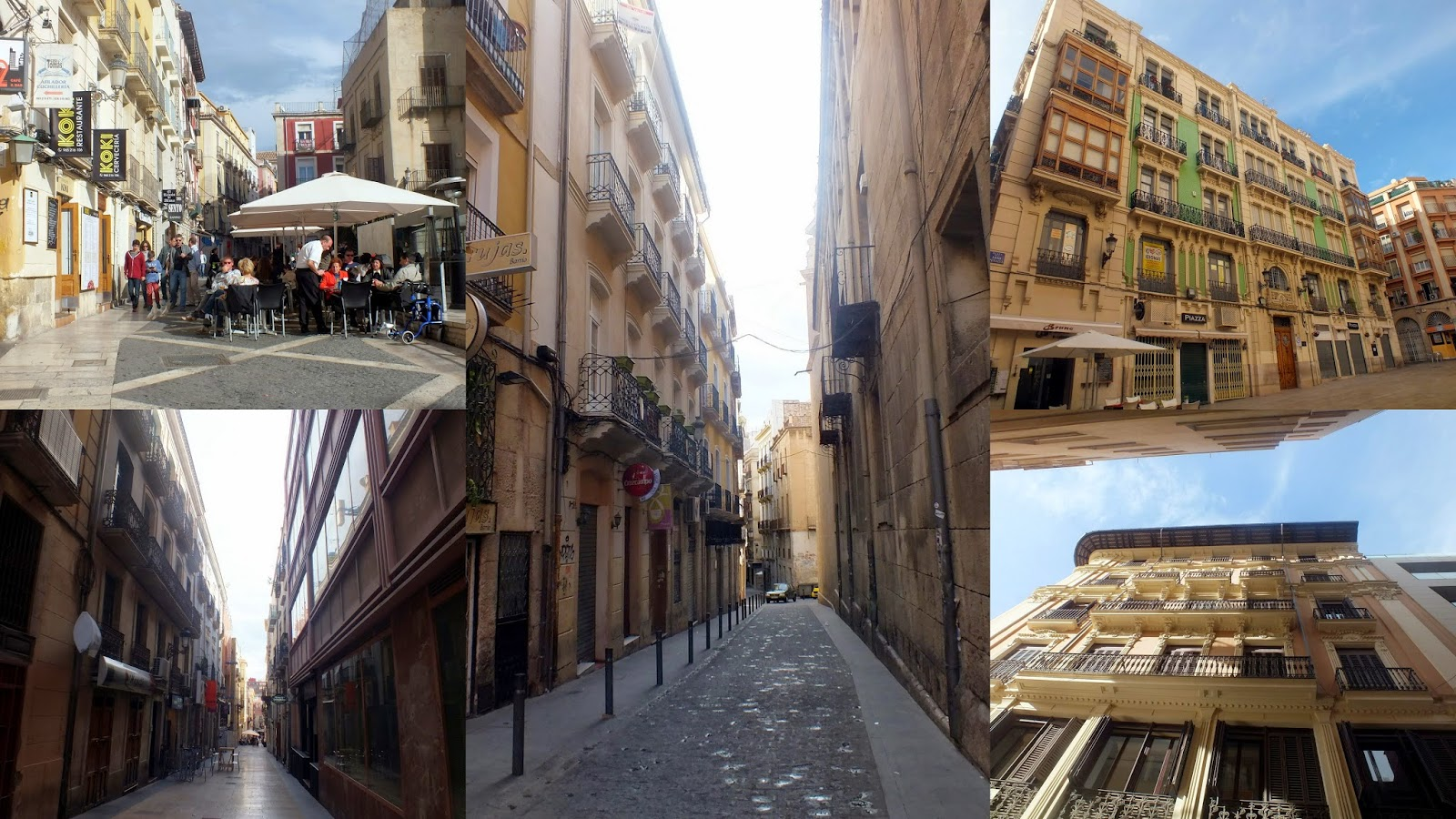 Paseo por el centro de Alicante