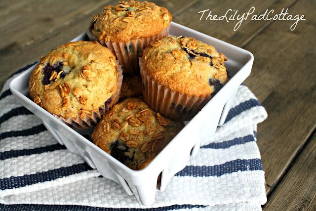 blueberry cream cheese granola muffin recipe