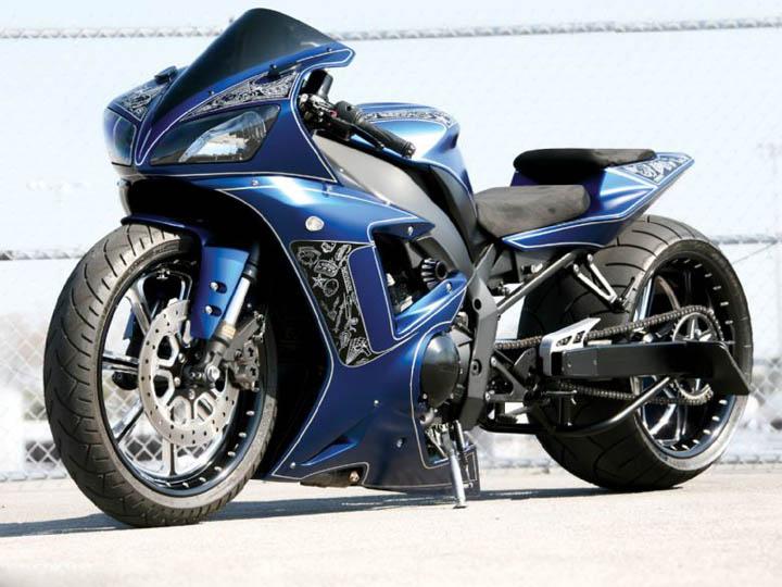 kaslı motorsiklet resimleri