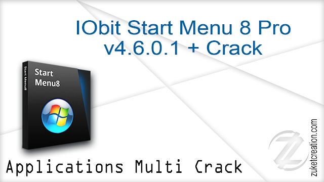 IObit Start Menu 8 Pro v4.6.0.1 + Crack   | 11.4 MB