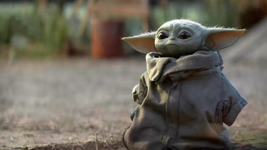 Baby Yoda, The Mandalorian, 4K, #7.990