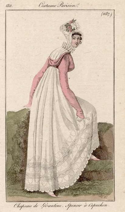 HISTORY OF FASHION ~ Romantic Era Gowns ~ La moda stile Regency (1795 -  1820) 8cfe61df49b