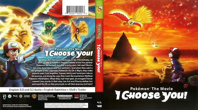 Pokémon The Movie: I Choose You! Bluray Cover