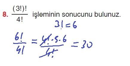 10. Sınıf Aydın Yayınları Matematik 27. Sayfa Cevapları 1. Ünite