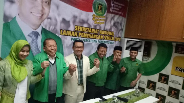 PPP Romi Resmi Usung Ridwan Kamil di Pilgub Jabar